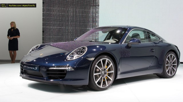 New Porsche 911 at Frankfurt Motorshow 2011