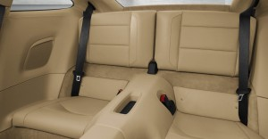 2012 new porsche 911 Carrera S Interior rear seats