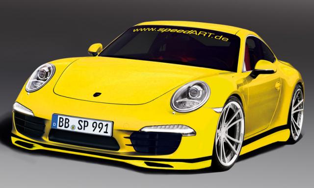 New Porsche 911 (Porsche 991) by speedART :Porsche Tuning