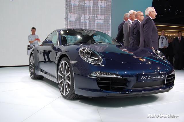 New Porsche 911 (Porsche 991) at Frankfurt Motorshow 2011