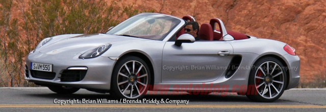 Porsche spy shots - Porsche 981