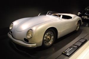 Porsche 356 America Roadster at Porsche museum