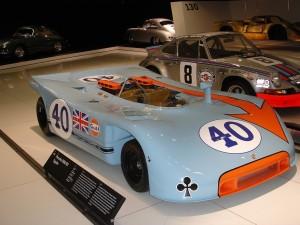 1970 Porsche 908/03 Spyder at Porsche museum