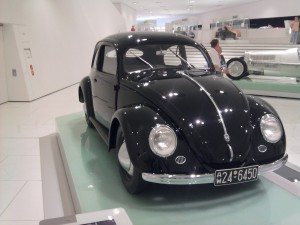 VW Beetle at Porsche Museum