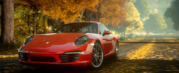 Need for Speed: The Run - New Porsche 911 Front angle view