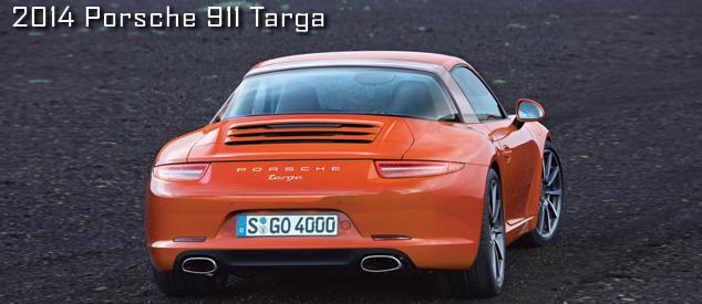 New Porsche 911 Targa (Porsche 991)
