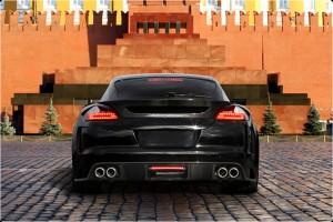 Porsche Tuning - Rear view