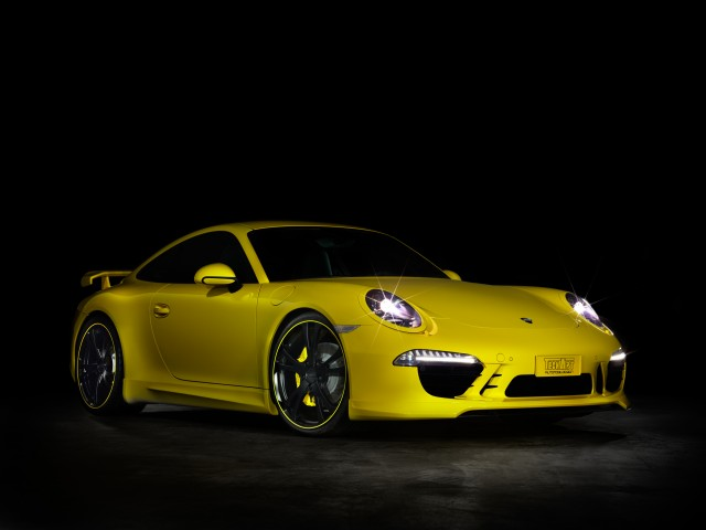Porsche Tuning by Techart - Front angle view
