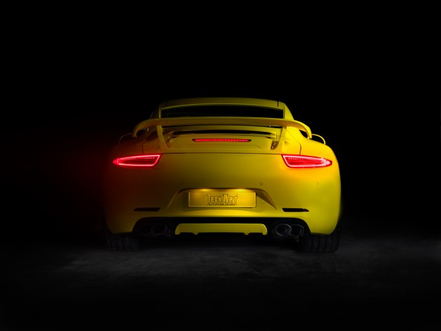 Porsche Tuning by Techart - Rear view