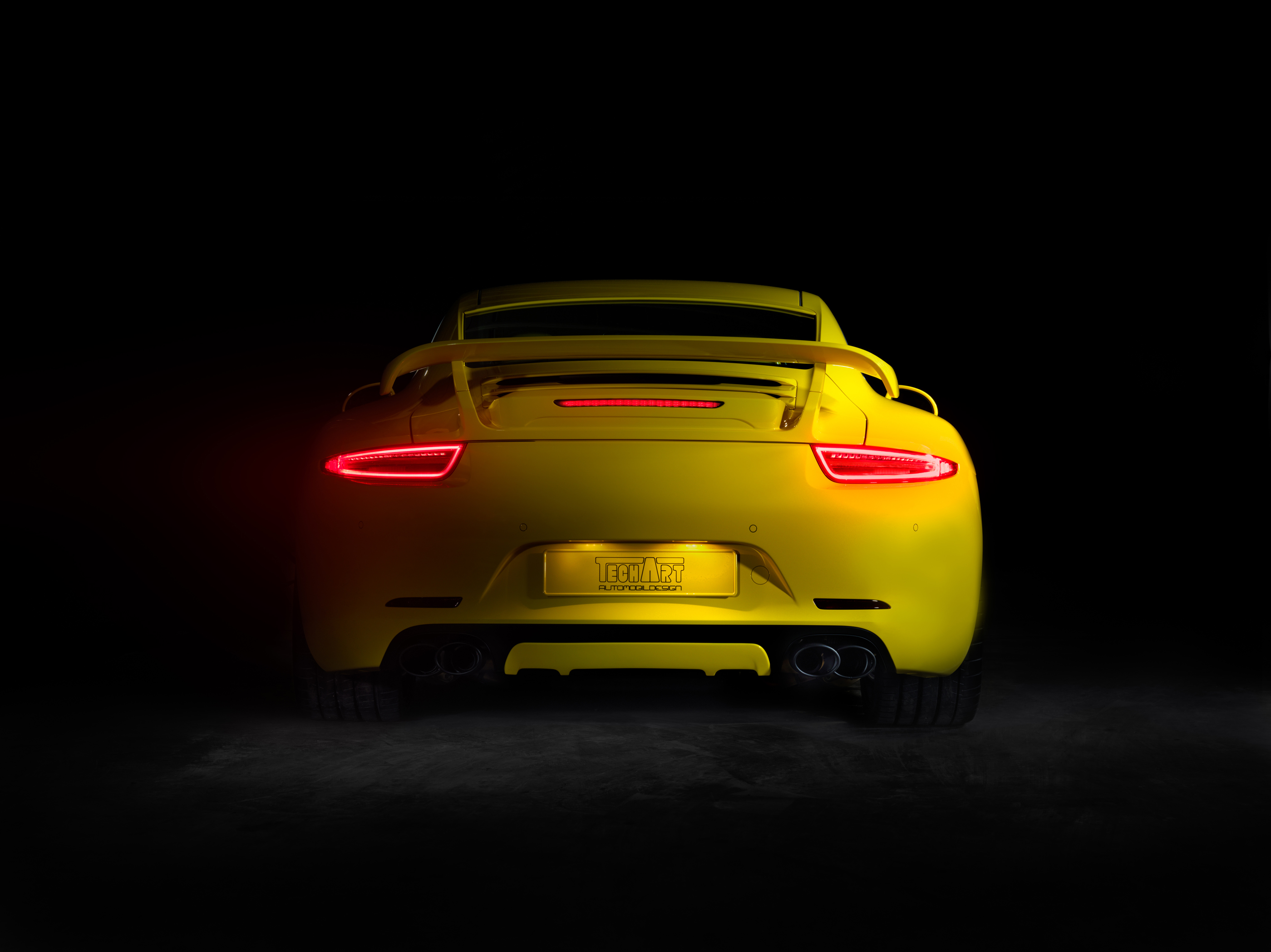 New Porsche 911 Tuning Program By Techart