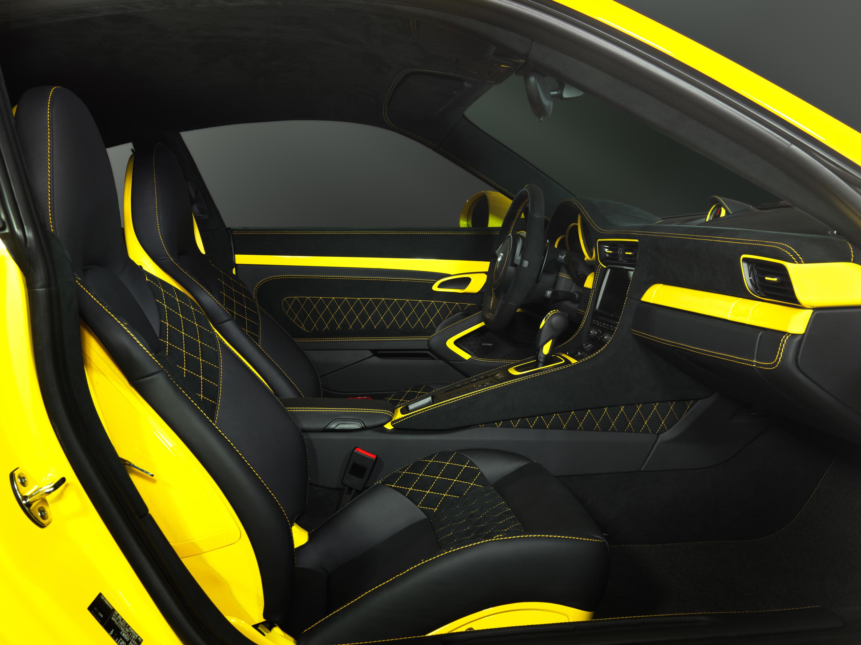 2014 porsche panamera interior car tuning - Porsche Tuning By Techart Interior