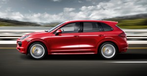 2012 Porsche Cayenne GTS - Side view
