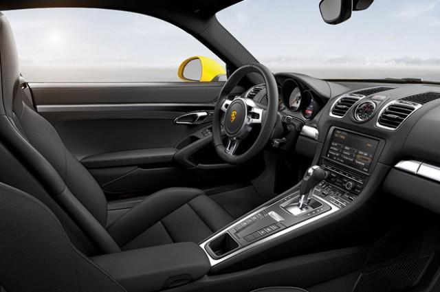 new Porsche Boxster interior